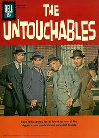 Cover for Four Color (Dell, 1942 series) #1237 - The Untouchables