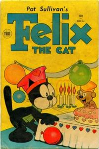 Cover for Felix the Cat (Toby, 1951 series) #51