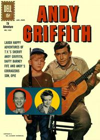 Cover Thumbnail for Four Color (Dell, 1942 series) #1252 - Andy Griffith