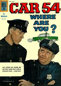 Cover Thumbnail for Four Color (Dell, 1942 series) #1257 - Car 54, Where Are You?