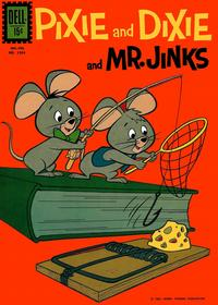 Cover Thumbnail for Four Color (Dell, 1942 series) #1264 - Pixie and Dixie and Mr. Jinks