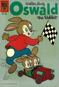 Cover Thumbnail for Four Color (Dell, 1942 series) #1268 - Walter Lantz Oswald the Rabbit