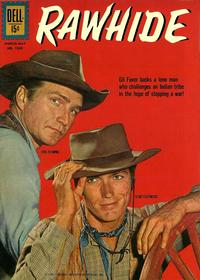 Cover Thumbnail for Four Color (Dell, 1942 series) #1269 - Rawhide