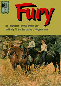 Cover Thumbnail for Four Color (Dell, 1942 series) #1296 - Fury