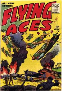 Cover Thumbnail for Flying Aces (Stanley Morse, 1955 series) #1