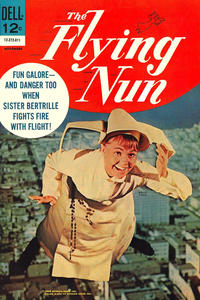 Cover Thumbnail for The Flying Nun (Dell, 1968 series) #4