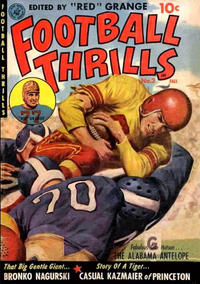 Cover Thumbnail for Football Thrills (Ziff-Davis, 1952 series) #2