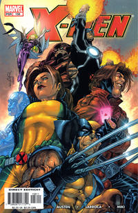 Cover Thumbnail for X-Men (Marvel, 2004 series) #158
