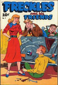 Cover Thumbnail for Freckles (Pines, 1947 series) #9