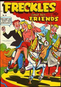 Cover Thumbnail for Freckles (Pines, 1947 series) #10