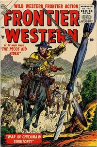 Cover Thumbnail for Frontier Western (Marvel, 1956 series) #1