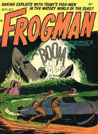Cover Thumbnail for Frogman Comics (Hillman, 1952 series) #v1#4