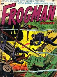 Cover Thumbnail for Frogman Comics (Hillman, 1952 series) #v1#6