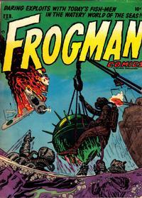 Cover Thumbnail for Frogman Comics (Hillman, 1952 series) #v1#8