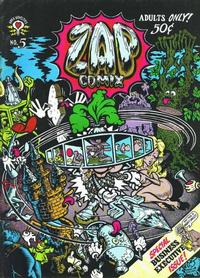 Cover Thumbnail for Zap Comix (The Print Mint Inc, 1969 series) #5