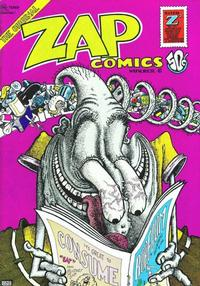 Cover Thumbnail for Zap Comix (The Print Mint Inc, 1969 series) #6