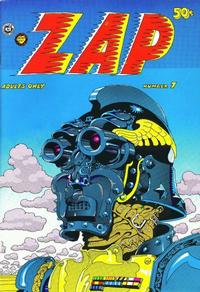 Cover Thumbnail for Zap Comix (The Print Mint Inc, 1969 series) #7