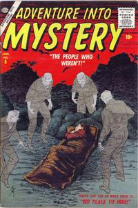 Cover Thumbnail for Adventure Into Mystery (Marvel, 1956 series) #5