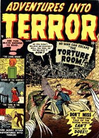 Cover for Adventures into Terror (Marvel, 1951 series) #4