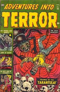 Cover Thumbnail for Adventures into Terror (Marvel, 1950 series) #15