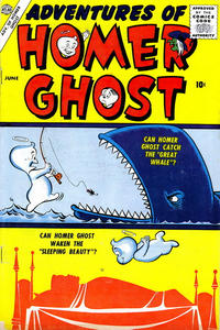 Cover Thumbnail for Adventures of Homer Ghost (Marvel, 1957 series) #1