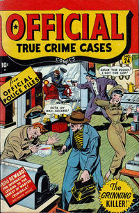 Cover Thumbnail for Official True Crime Cases Comics (Marvel, 1947 series) #24
