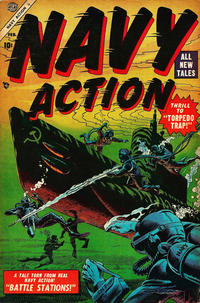 Cover Thumbnail for Navy Action (Marvel, 1954 series) #4