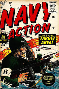 Cover Thumbnail for Navy Action (Marvel, 1954 series) #5