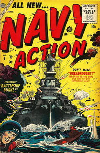 Cover Thumbnail for Navy Action (Marvel, 1954 series) #6