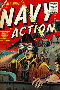 Cover Thumbnail for Navy Action (Marvel, 1954 series) #7