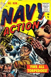 Cover Thumbnail for Navy Action (Marvel, 1954 series) #9