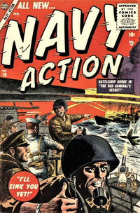 Cover Thumbnail for Navy Action (Marvel, 1954 series) #10