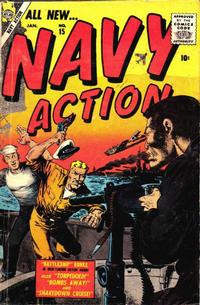 Cover Thumbnail for Navy Action (Marvel, 1957 series) #15