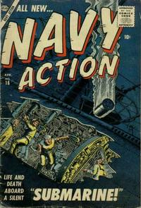 Cover Thumbnail for Navy Action (Marvel, 1957 series) #16
