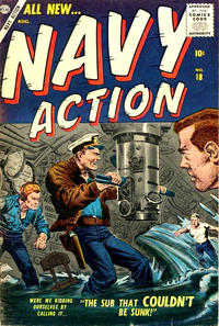 Cover Thumbnail for Navy Action (Marvel, 1957 series) #18