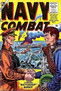 Cover Thumbnail for Navy Combat (Marvel, 1955 series) #6