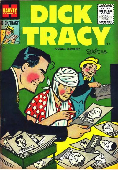 Cover for Dick Tracy (Harvey, 1950 series) #95