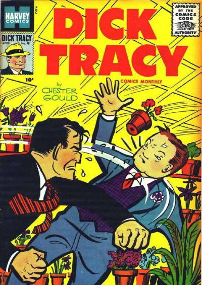 Cover for Dick Tracy (Harvey, 1950 series) #98