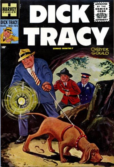 Cover for Dick Tracy (Harvey, 1950 series) #102