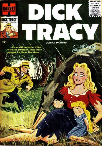Cover for Dick Tracy (Harvey, 1950 series) #104