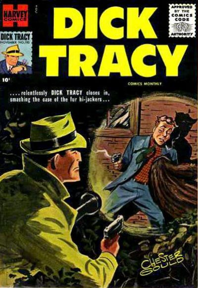 Cover for Dick Tracy (Harvey, 1950 series) #105