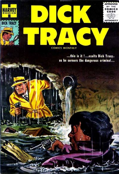 Cover for Dick Tracy (Harvey, 1950 series) #109