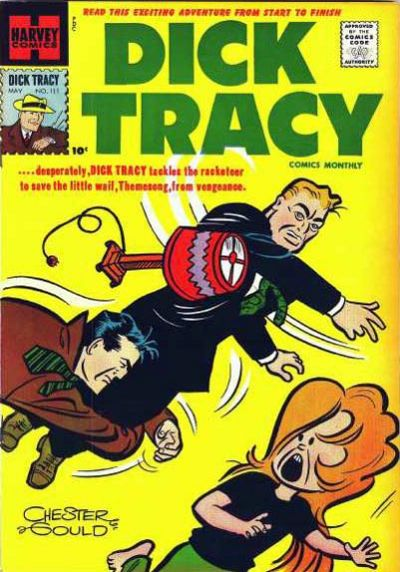 Cover for Dick Tracy (Harvey, 1950 series) #111