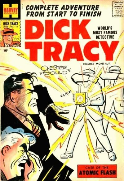 Cover for Dick Tracy (Harvey, 1950 series) #112