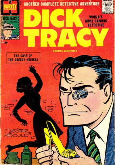 Cover for Dick Tracy (Harvey, 1950 series) #115