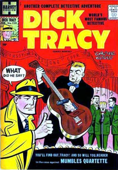 Cover for Dick Tracy (Harvey, 1950 series) #120
