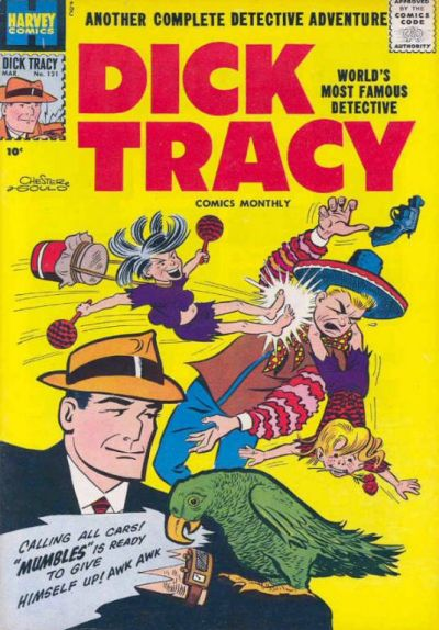 Cover for Dick Tracy (Harvey, 1950 series) #121