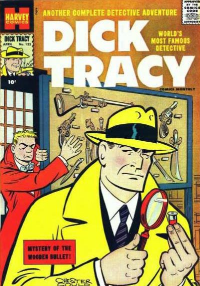 Cover for Dick Tracy (Harvey, 1950 series) #122