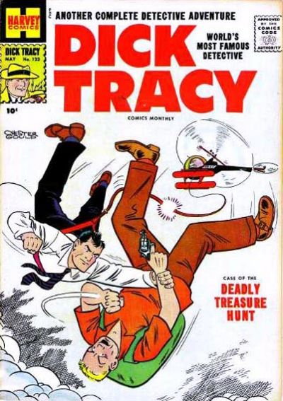Cover for Dick Tracy (Harvey, 1950 series) #123