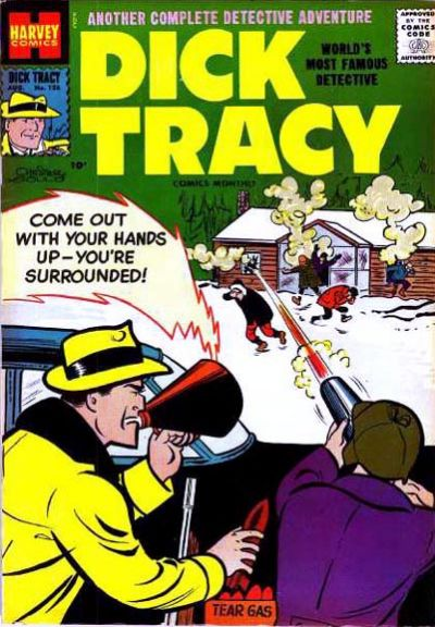 Cover for Dick Tracy (Harvey, 1950 series) #126